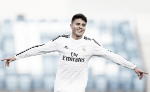 El otro colombiano del Real Madrid anotó un gol