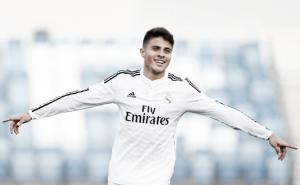 El otro colombiano del Real Madrid anotó un gol