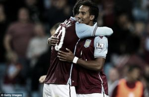 Aston Villa 5-3 Notts County (AET): Sinclair hat-trick swings ding-dong battle in Villa's favour