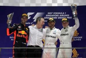 """Gp di Singapore, Bottas punta Vettel: """"Voglio superarlo nella classifica Mondiale"""""""
