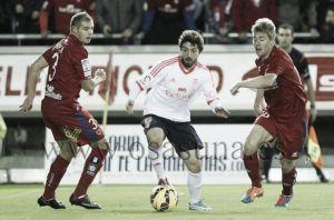 Numancia - Osasuna: puntuaciones Osasuna, jornada 12