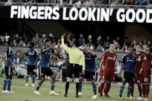Nine-man San Jose Earthquakes triumph over Toronto FC