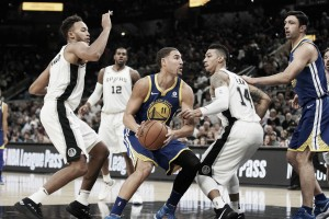 Golden State Warriors fight back; defeat San Antonio Spurs 112-92