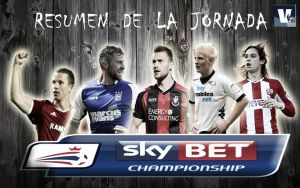 Resumen de la jornada 25 de la Sky Bet Championship