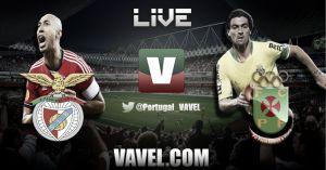 Benfica vs Paços Ferreira en vivo y en directo online