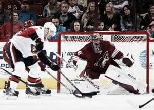 Arizona Coyotes start tough road trip with loss to Ottawa Senators