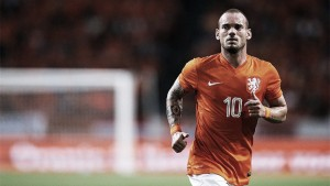 La KNVB reconoce el esfuerzo de Wesley Sneijder