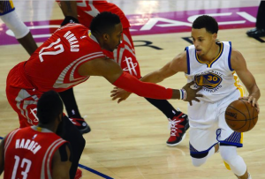 Stephen Curry Helps Push Golden State Warriors Past Houston Rockets In Game 2