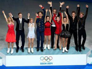 Rusia gana el oro en patinaje artístico por equipos