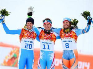 Matthias Mayer, oro en descenso