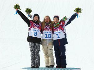 Jamie Anderson, primera campeona olímpica de slopestyle