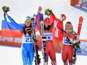 Sochi 2014: empate histórico por el oro en descenso