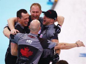 Paliza canadiense para revalidar el oro en curling