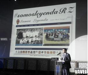Fotos e imágenes de la presentación de 'Somos Leyenda' del Real Zaragoza