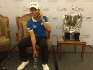 Younghan Song Beats Jordan Spieth In Singapore
