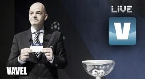 Sorteo de los octavos de final de la Champions: Roma, Arsenal y PSV, rivales de Madrid, Barça y Atlético