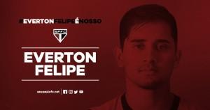 São Paulo acerta contratação do meia-atacante Everton Felipe, ex-Sport