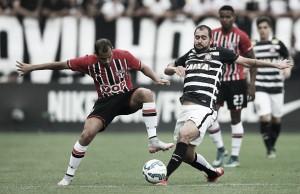 Na Arena, São Paulo ainda não venceu o Corinthians