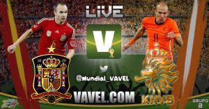 Live Mondiali 2014: diretta Spagna vs Olanda