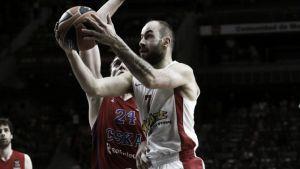Spanoulis aparece para machacar a CSKA en el último cuarto
