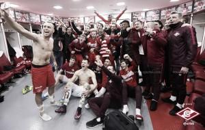 El Spartak llega al parón invernal como líder de la Russian Premier League