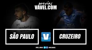 Com desfalques importantes, São Paulo e Cruzeiro se enfrentam no Morumbi