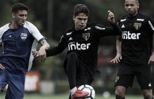 Com reservas, São Paulo vence Nacional-SP em jogo-treino