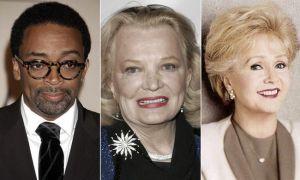 Óscar honoríficos 2015 paraSpike Lee, Gena Rowlands y Debbie Reynolds