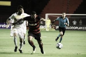Sport joga mal, mas arranca empate no fim contra Chapecoense