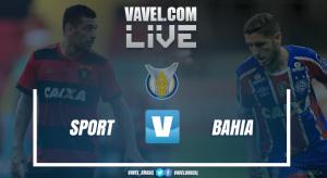 Resultado Sport x Bahia no Campeonato Brasileiro 2017 (1-0)