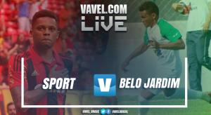 Resultado Sport x Belo Jardim pelo Campeonato Pernambucano 2017 (1-0)