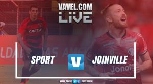 Resultado Sport x Joinville pela Copa do Brasil 2017 (2-1)