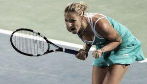Pliskova derrota a Arruabarrena en segunda ronda de Indian Wells