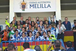 Sporting Club Huelva 2015/16: las campeonas de España vuelven a la acción