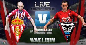 Sporting Gijón - Mirandés en directo online