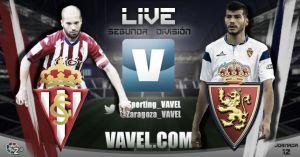 Sporting de Gijón vs Real Zaragoza en directo online