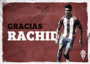 Rachid Aït-Atmane rescinde contrato con el Sporting