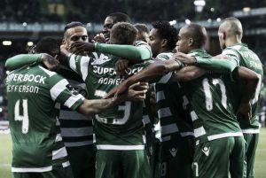 Sporting CP se pega un festín a costa de Vitória Guimarães