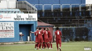 Real Sporting de Gijón B - Peña Sport: golpe encima de la mesa