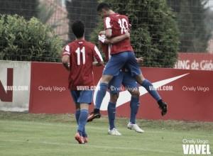 Una soberbia segunda parte salva al Sporting B en Pola de Lena