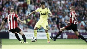 Sunderland 2-2 Tottenham Hotspur: Late Kane own goal secures dramatic point for the Black Cats