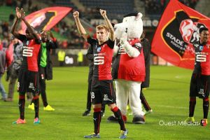Rennes 1-0 Lorient: Late luck for home side