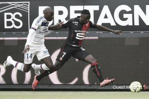 Rennes 0-1 Lyon: Late Njie goal earns visitors three points
