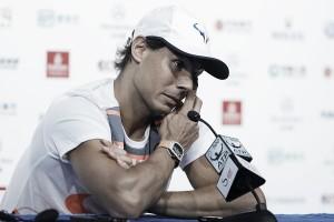 """Rafael Nadal: """"Voy a luchar por jugar la Copa Masters"""""""