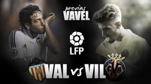 """Previa Valencia - Villarreal: un derbi sin """"caloret"""""""