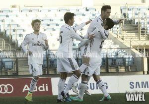 Burgui y Narváez ponen líder al Real Madrid Castilla