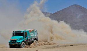 Iveco 'reaparece' en plena tregua entre los Kamaz