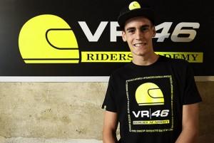Manzi in Moto2 con lo Sky Racing Team nel 2017