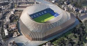"""Il Chelsea presenta il nuovo """"Stamford bridge"""""""