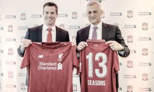El Liverpool renueva su acuerdo con Standard Chartered
